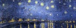 Notte stellata di Van-Gogh